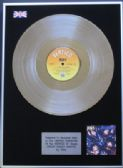 "KISS - 12"" Platinum Disc - CRAZY CRAZY NIGHTS"